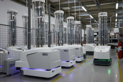 Covid-19: 200 robot sanificheranno gli ospedali europei