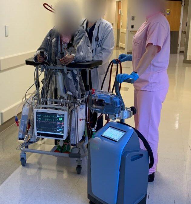 Covid-19: i primi pazienti trattati con la tecnologia innovativa ECMO