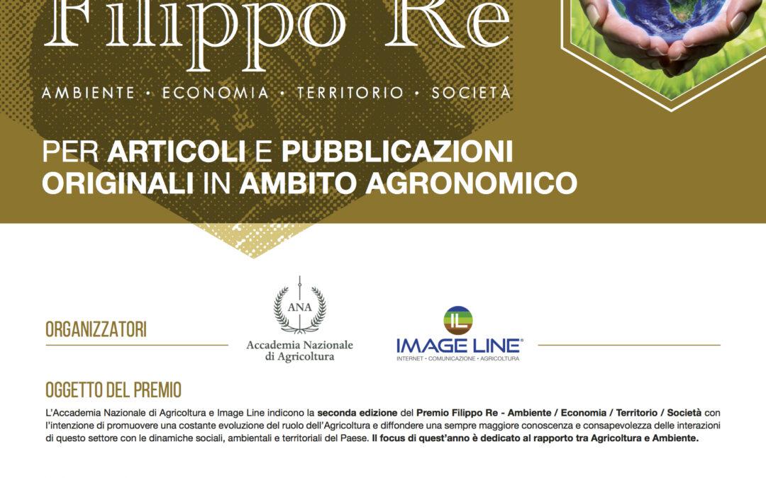 """Al via la seconda edizione del """"Premio Filippo Re"""" per articoli e pubblicazioni agronomiche di studiosi under 40"""