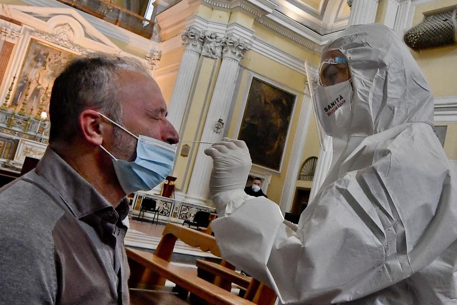 """""""Tamponi solidali al tempo della pandemia"""""""