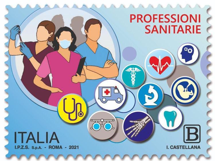 """Covid, un francobollo dedicato agli """"eroi della pandemia"""""""