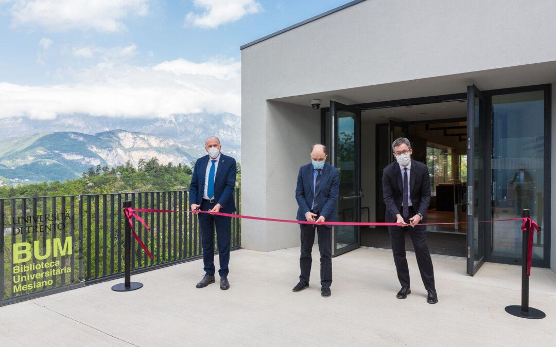 Università di Trento, nasce la nuova biblioteca