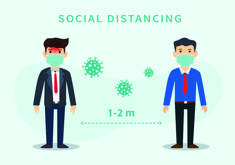 Distanziamento sul posto di lavoro, arriva il monitoraggio intelligente