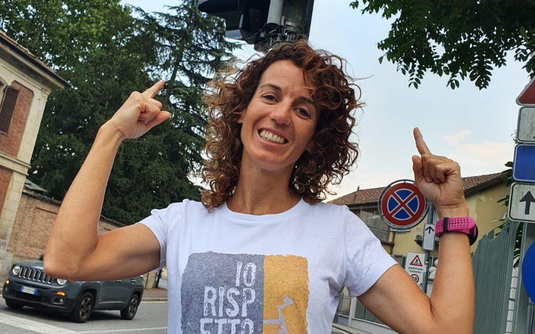 Paola Gianotti e la sicurezza in bici: con il Giro riparte la sua campagna per la salvaguardia dei ciclisti sulle strade