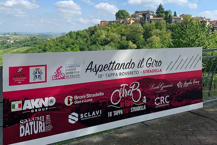 Giro d'Italia, il welcome wine del Consorzio tutela vini Oltrepò pavese