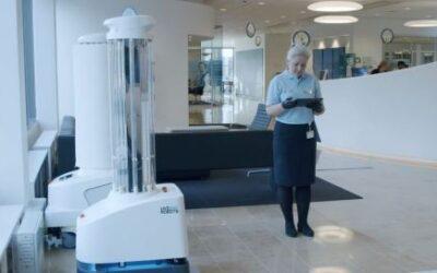 Covid e sanificazione, ecco i robot UVD