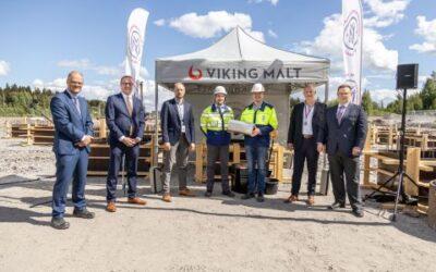 Malto vichingo: posata la prima pietra del nuovo impianto di produzione in Finlandia