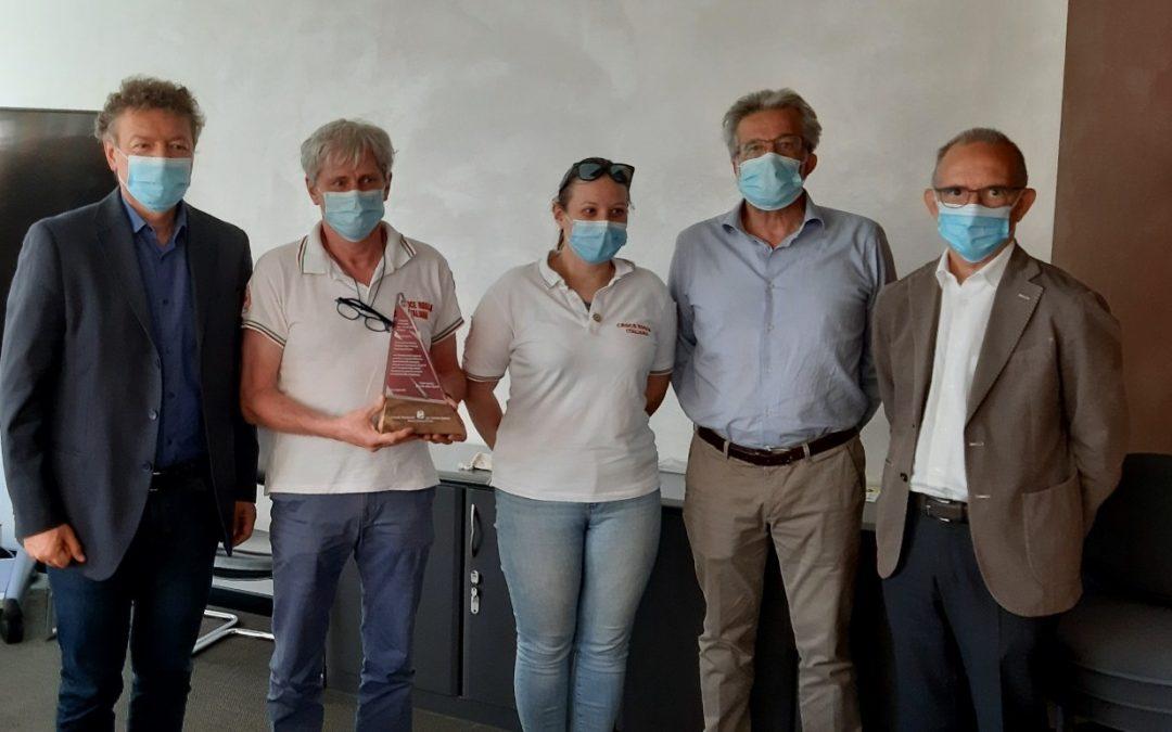 Covid, azienda sanitaria Trento premia i volontari della Croce Rossa