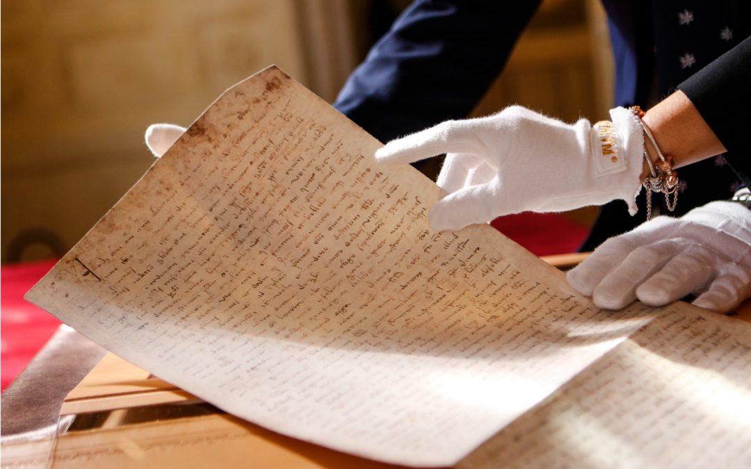 Un clone del testamento di Marco Polo in dono al museo del turismo mondiale