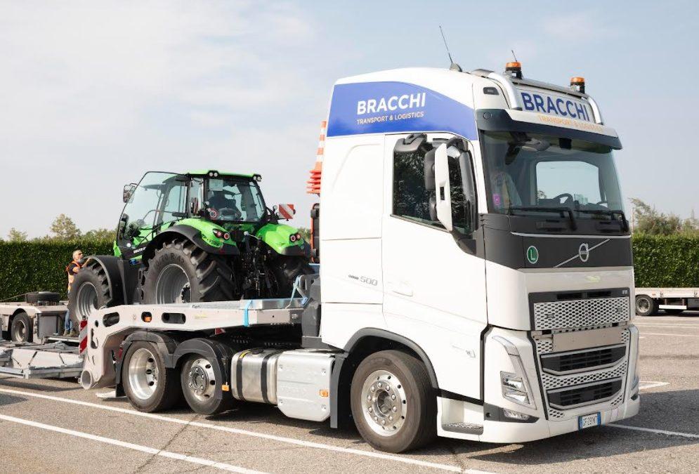 Bracchi ai vertici europei nel trasporto agricolo, il settore cresce del 35%