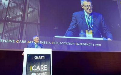 SIAARTI, il nuovo presidente è il professor Antonino Giarratano